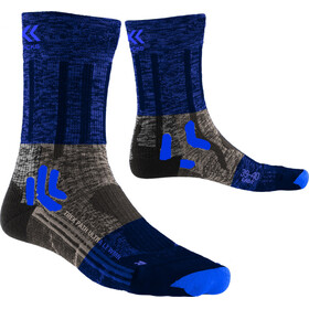 X-Socks Trek Path Ultra LT Chaussettes Femme, sand beige/midnight blue